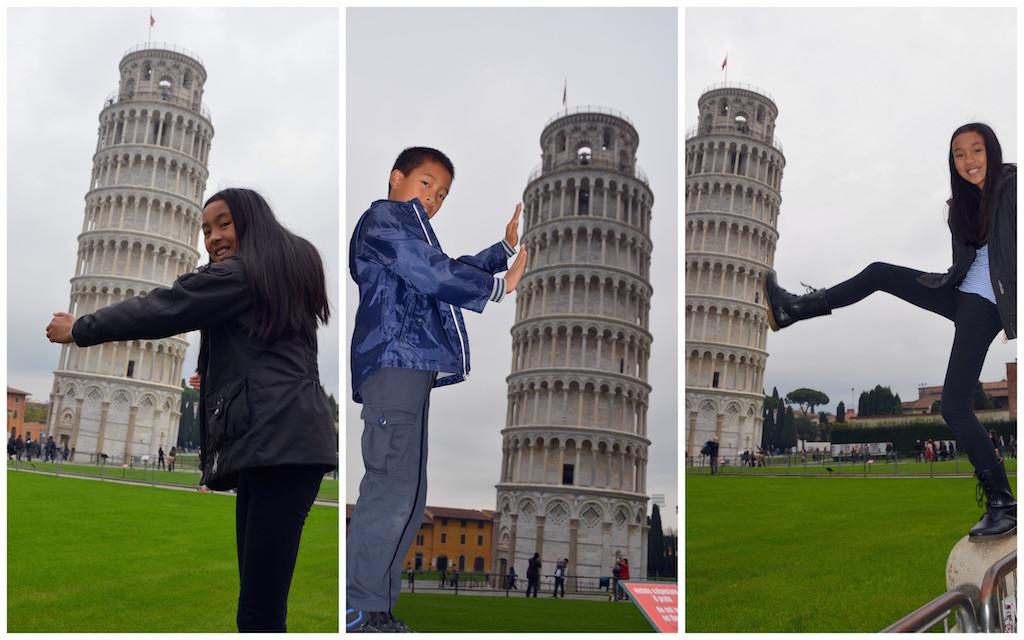 برج کج پیزا و تکراری ترین فیگور توریست ها (تصویری)